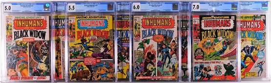 8PC Marvel Comics Amazing Adventures #1-#8 CGC Run