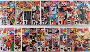 21 Marvel Comics Secret Wars & Secret Wars II Comp