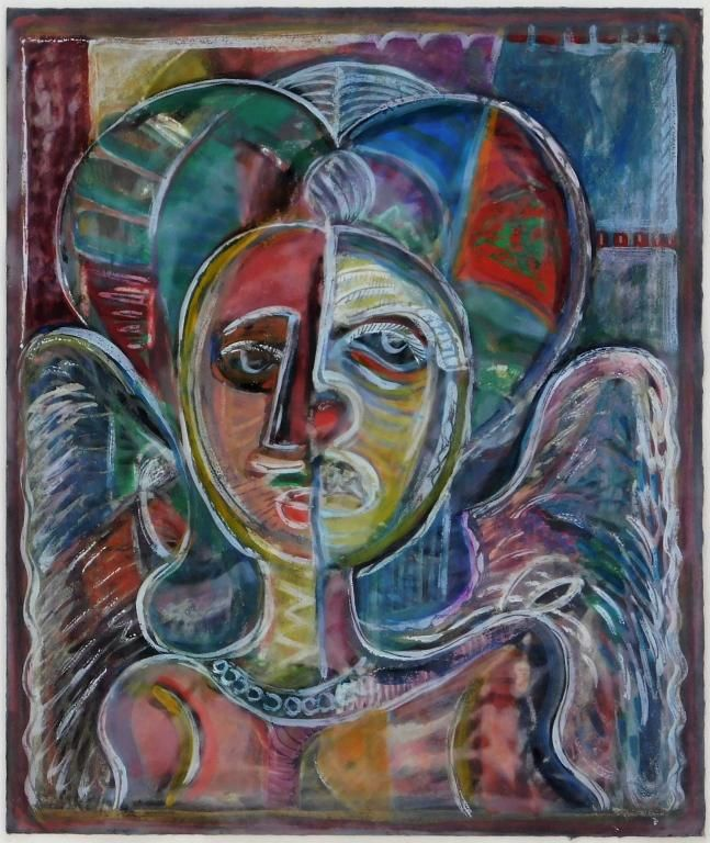 David Clyde Driscoll Figurative Abstract Painting