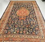 C1900 Antique Persian Bidjar Oriental Carpet Rug