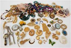 Estate Vintage Costume Jewelry Collection