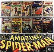 119 Marvel Comics Amazing Spider-Man #18-#185 Lot