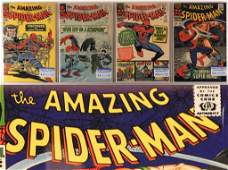 4 Marvel Comics Amazing Spider-Man 25-43 CBCS Lot