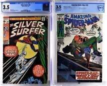 Marvel Amazing Spider-Man #90 Silver Surfer #14