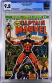 Marvel Comics Captain Marvel #32 CGC 9.8