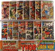 14 Marvel Comics Silver Age King Size Annual Group