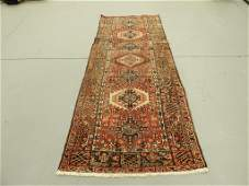 Semi Antique Persian Hamadan Carpet Rug Runner