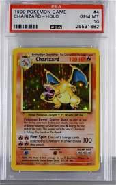 1999 Pokemon Base Unlimited Charizard PSA 10