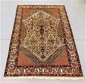 Antique Persian Pictorial Afshar Carpet