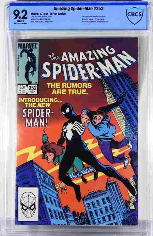 Marvel Comics Amazing Spider-Man #252 CBCS 9.2