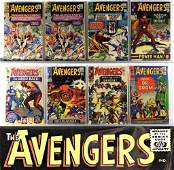 28 Marvel Comics Avengers #12-#191 & Annuals Group