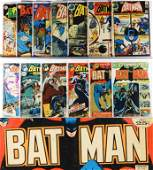 13PC DC Comics Batman #173-#255 Group