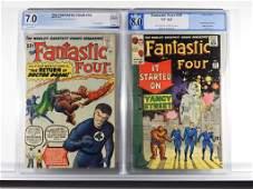 2 Marvel Comics Fantastic Four 10 29 PGX 70 80