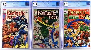 Marvel Comics Fantastic Four 82 83 89 CGC Group
