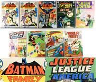9PC DC Comics Silver Bronze Age Comic Group