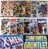 13PC Marvel Comics Silver Bronze Modern Key Group