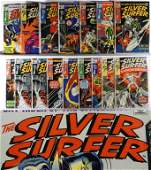 16PC Marvel Comics Silver Surfer 518 Group