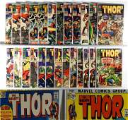 80PC Marvel Comics Thor #127-#200 Group