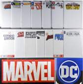 23PC DC Marvel Comics Blank Variant Sketch Books