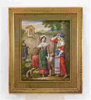 Johann Dallinger Von Dalling Old Master's Painting