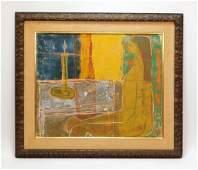 Sacha Tebo Figurative Abstract Interior Painting
