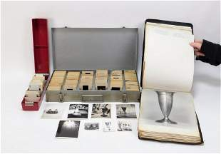 3PC Tiffany & Co. Slide & Photograph Archive
