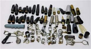 27PC Assorted Saxophone & Clarinet Mouth Pieces