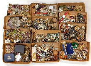 LG Group of Assorted Costume Jewelry & Accessories