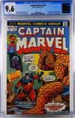 Marvel Comics Captain Marvel #26 CGC 9.6