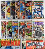 24 DC Marvel Comics Bronze Modern Key Issue Group