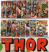 71PC Marvel Comics Thor #144-#390 & KS #2 #8