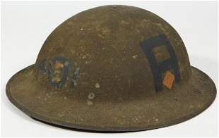 U.S. WWI 1st Army Painted Helmet