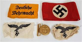 Group of WWII German Insignia