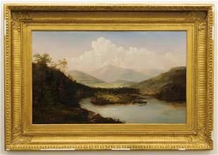 LG Hudson River Impressionist Landscape Painting