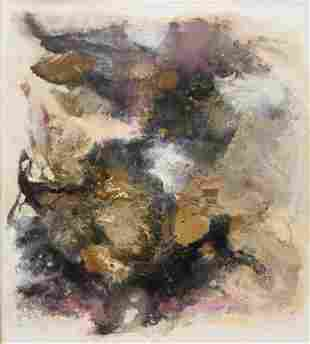 Eugene Winters Abstract Expressionist Painting