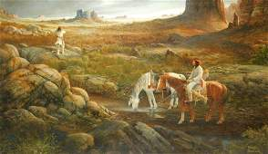 Warren Boucher Native American Painting