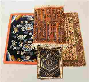 4PC Belouch & Chinese Carpets