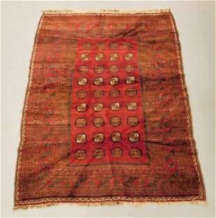 Antique Red Belouch Rug