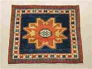 Caucasian Lesghi Star Pattern Carpet