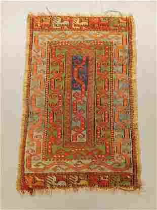 Antique Turkish Yastyk Rug