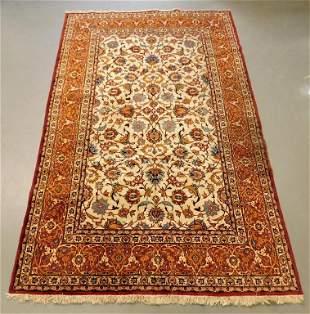 Room Size Persian Botanical Rug