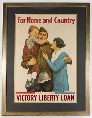 Alfred Everitt Orr WWI Liberty Loan Poster