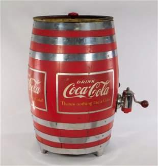 Coca Cola Barrel Dispenser