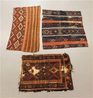 3PC Middle Eastern Bagface Carpets