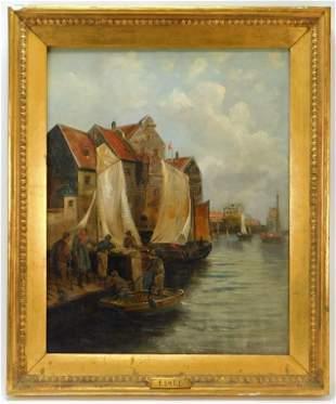 E. Lott Dutch Harbor Painting