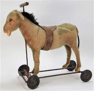 Antique Stieff Horse Pull Toy