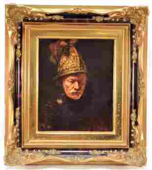 Rosenthal Porcelain Tile After Rembrandt