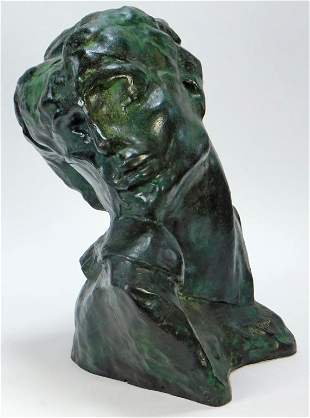 Aft. Auguste Rodin Cast Bronze Sculpture