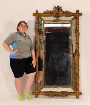 LG Victorian Adirondack Mirror