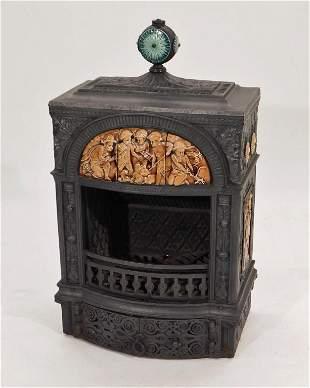 Low Art Tile Cast Iron Stove